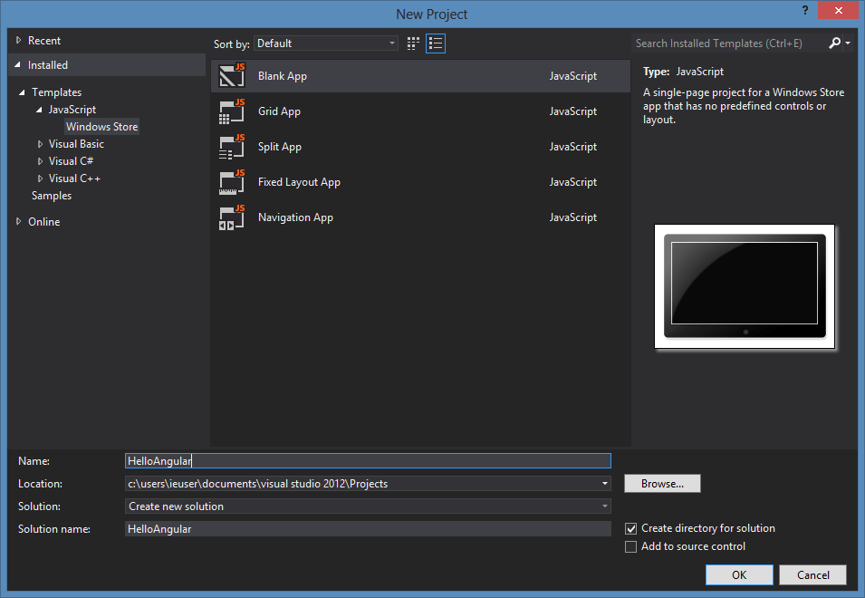 Building Windows 8 Applications with AngularJS aka Oh Yes I Did!