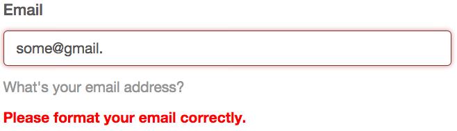 Mailchimp Error