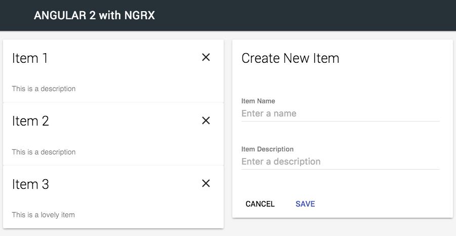 NGRX App Demo
